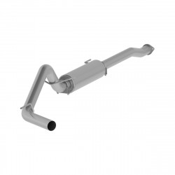"3"" Cat Back, Single Side Exit, Aluminized"