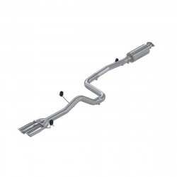 """MBRP PRO Series Ford Fiesta 3"""" Cat Back Dual Sport Compact Exhaust"""