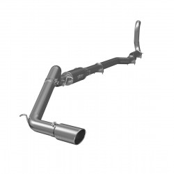 "4"" Turbo Back, Single Side Exit Exhaust, T409"