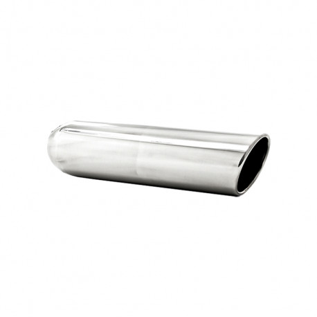 """4"""" OD, 2.5"""" inlet, 16"""" """" length, Angled Cut Rolled End, Weld on, T304"""