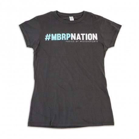 Grey Ladies T-Shirt ,MBRPnation,