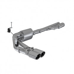 "3"" Cat Back, Pre-Axle Dual Side Exit, T304"