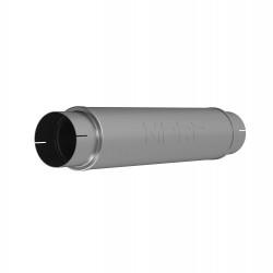 "MBRP XP Series Universal 5"" Inlet Muffler Resonator"