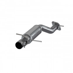 "3"" Single in/out Muffler Replacement, High Flow, T409"