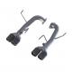 "MBRP Subaru WRX and WRX STI, 2.5"" Axle-Back, Dual Split Rear Exit, T3CF"