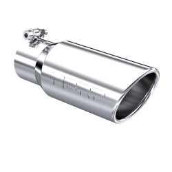 "UNIVERSAL 4"" ANGLED CUT ROLLED END MBRP PRO SERIES EXHAUST TIP"