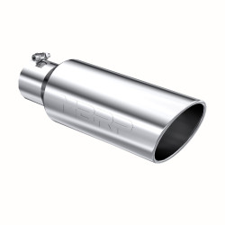"""MBRP PRO Series Universal 4"""" Inlet Angled Rolled End Tail Pipe Tip"""
