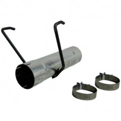 DODGE CUMMINGS 4 INCH MUFFLER DELETE PIPE INSTALLER SERIES