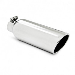 "MBRP PRO Series Universal 2.25"" Inlet Angled Rolled End Tail Pipe Tip"